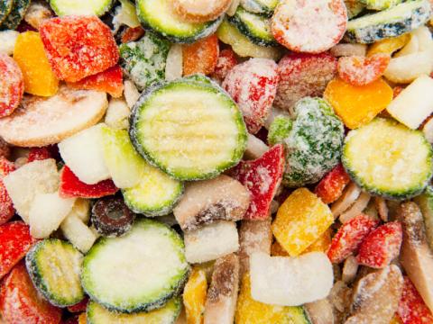 凍菜のイメージ
