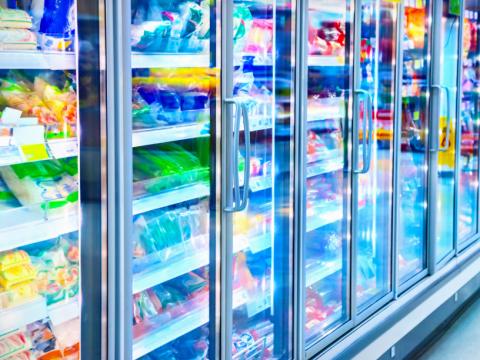 冷凍食品売場のイメージ
