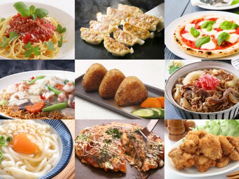 バラエティに富んだ冷凍食品のイメージ