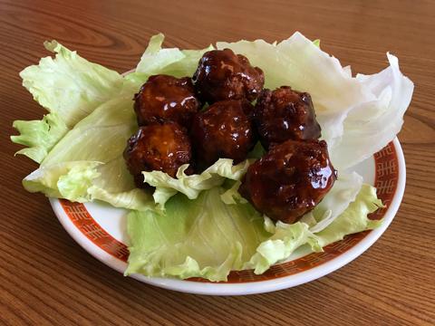 日本ハム冷凍食品「中華の鉄人® 陳建一 甘酢肉団子」
