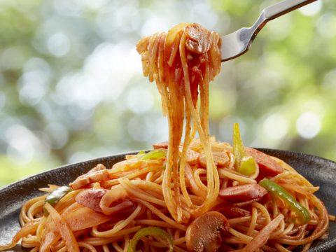 ナポリタンスパゲティの画像