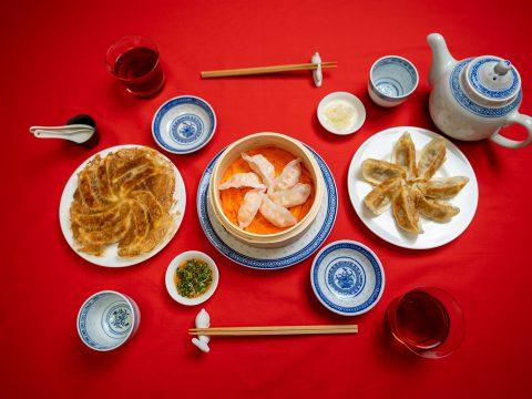 冷凍中華総菜で飾る食卓