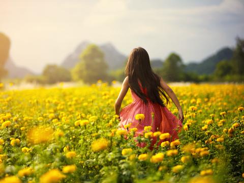 黄色(イエロー Yellow)のイメージ