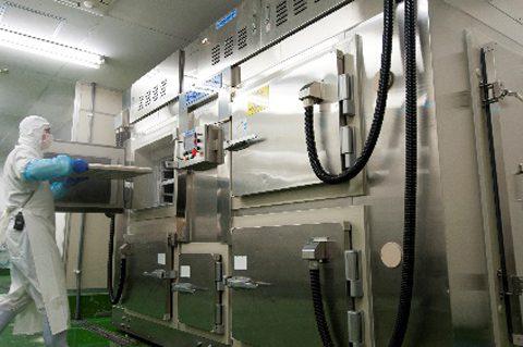 急速冷凍が可能なプロトン凍結機